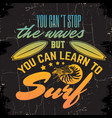 quote typographical background with hand drawn of vector image vector image