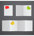 stationary design vector image vector image