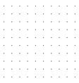 Trendy Polka Dot Pattern vector image