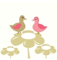 young chicks vector image