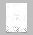 abstract geometric dot pattern background poster vector image vector image