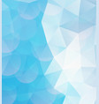 blue geometric pattern abstract background for vector image vector image