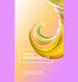 color paint background abstract gradient vector image vector image