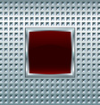 Glossy square screen vector image vector image