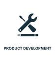 product development icon symbol creative sign vector image vector image