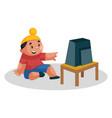 sardar boy cartoon vector image vector image