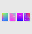 backgrounds geometric pattern and color gradient vector image
