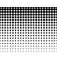 blend circles seamless pattern vector image