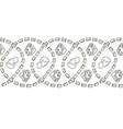 classical art pattern stripe vector image