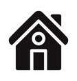 home icon house symbol vector image