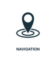 navigation icon symbol creative sign from seo and vector image vector image