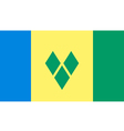 St Vincent And Grenadines vector image