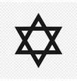 symbol judaism isolated vector image