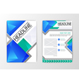 A4 Abstract Background modern polygon design vector image