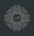 Floral Logo vector image