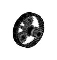 Black planetary gear