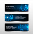 blue abstract technology corporate business vector image vector image