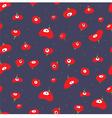 dark poppies vector image vector image