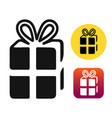 gift of book vector image vector image
