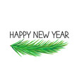 happy new year greetings vector image vector image