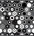 hipster black and white pattern vector image vector image