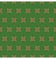 seamless pattern on a green background vector image vector image