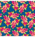 Summer Rose Pattern vector image vector image