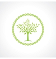 symbol of tree vector image