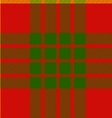 clan cameron tartan seamless background vector image vector image
