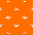 crab pattern seamless vector image vector image