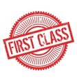 First class stamp vector image vector image