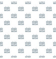home wash pattern seamless vector image vector image