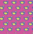 seamless blue duck pattern on pink vector image vector image