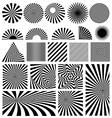 Shine set vector image vector image