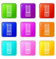shop set 9 vector image vector image