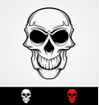 Skulls Tattoo Design vector image