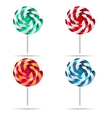 sweets and candies icons set EPS vector image