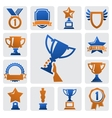 trophy and awards vector image vector image