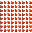 apple wallpaper on white background vector image vector image
