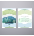 Business Review Brochure vector image vector image