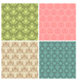 damask ornamental patterns vector image