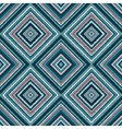 ethnic rhombus blue tribal seamless pattern vector image vector image