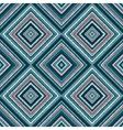 ethnic rhombus blue tribal seamless pattern vector image