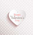 happy valentines day background 1612 vector image vector image