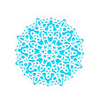 template snowflakes laser cut and engraved vector image vector image