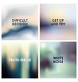 abstract silvery gray white blurred vector image