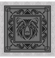 bear tattoo animal design vector image vector image