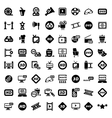 Big movie icon set vector | Price: 1 Credit (USD $1)