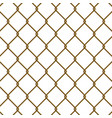 chain link fence vector image vector image