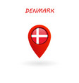 location icon for denmark flag eps file vector image